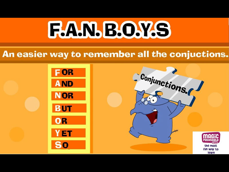 Conjunction for Kids   Conjunction Examples   Conjunctions