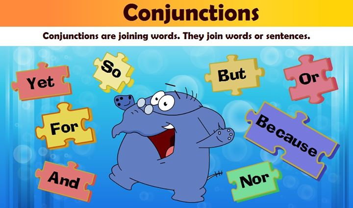 Conjunction for Kids | Conjunction Examples | Conjunctions Worksheets