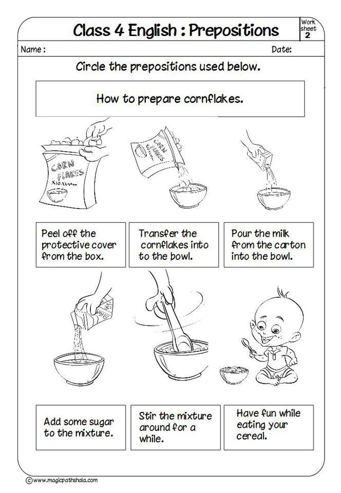 Prepositions For Kids Prepositions Exercises Prepositions Worksheets