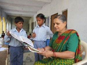 Teacher in India