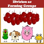 Division as forming groups