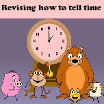 Revising how to tell time