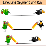 Distinction between a line segment, a line and a ray