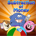 Subtraction of money