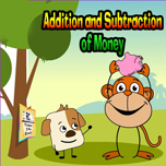 Addition and subtraction of money