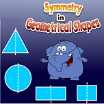 Symmetry in geometrical shapes