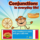 Conjunctions used in everyday life!