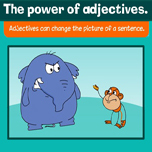 The power of adjectives
