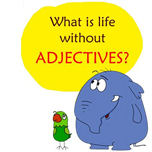 Life without adjectives