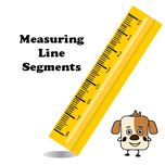 Measuring line segments.