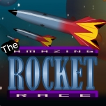 Rocket race on 4-digit numbers