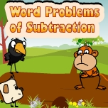 Word problems of subtraction