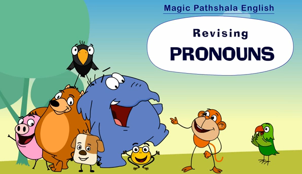 Pronouns for Class 4
